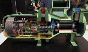 Compresor de tornillo BITZER, IFEMA 2017. Una de las mejores soluciones a la hora de requerir una gran potencia frigorífica.
